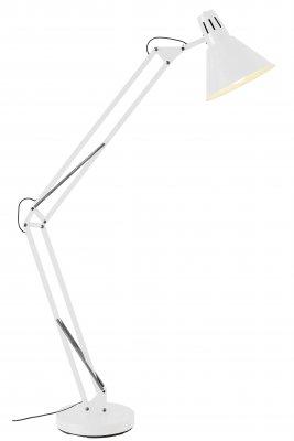 Торшер Brilliant 92710/05 WinstonМеталлические<br>Зачастую мы ищем идеальное освещение для своего дома и уделяем этому достаточно много времени. Так, например, если нам нужен светильник с количеством ламп - 1 и цвет плафонов должен быть - белый, а материал плафонов только металл! То нам, как вариант, подойдет модель - лампа напольная Brilliant 92710/05.<br><br>S освещ. до, м2: 4<br>Тип лампы: накаливания / энергосбережения / LED-светодиодная<br>Тип цоколя: E27<br>Цвет арматуры: белый<br>Количество ламп: 1<br>Высота, мм: 1800<br>MAX мощность ламп, Вт: 60
