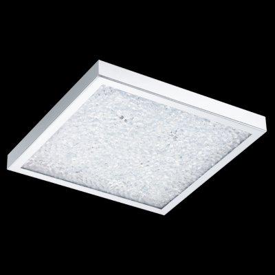 Eglo CARDITO 92781 Настенно-потолочные светильникиКвадратные<br>Настенно-потолочные светильники – это универсальные осветительные варианты, которые подходят для вертикального и горизонтального монтажа. В интернет-магазине «Светодом» Вы можете приобрести подобные модели по выгодной стоимости. В нашем каталоге представлены как бюджетные варианты, так и эксклюзивные изделия от производителей, которые уже давно заслужили доверие дизайнеров и простых покупателей.  Настенно-потолочный светильник Eglo 92781 станет прекрасным дополнением к основному освещению. Благодаря качественному исполнению и применению современных технологий при производстве эта модель будет радовать Вас своим привлекательным внешним видом долгое время. Приобрести настенно-потолочный светильник Eglo 92781 можно, находясь в любой точке России.<br><br>S освещ. до, м2: 5<br>Цветовая t, К: 3000 (теплый белый<br>Тип лампы: LED - светодиодная<br>Тип цоколя: LED LED<br>Количество ламп: 4<br>Ширина, мм: 365<br>MAX мощность ламп, Вт: 3<br>Размеры основания, мм: 0<br>Длина, мм: 365<br>Высота, мм: 75<br>Оттенок (цвет): прозрачный<br>Цвет арматуры: серебристый<br>Общая мощность, Вт: 19W