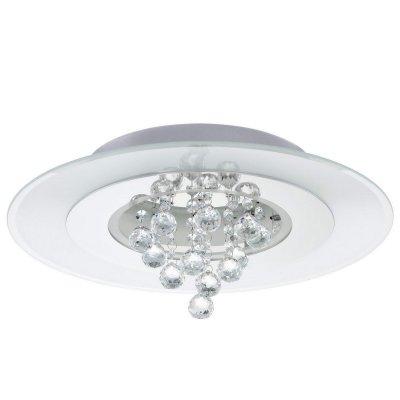 Eglo NARDELLI 92802 светильник LED (светодиодный)Архив<br><br><br>Установка на натяжной потолок: Ограничено<br>S освещ. до, м2: 8<br>Крепление: Планка<br>Тип лампы: галогенная / LED-светодиодная<br>Тип цоколя: G9<br>Цвет арматуры: серебристый<br>Количество ламп: 7<br>Диаметр, мм мм: 460<br>Высота, мм: 150<br>MAX мощность ламп, Вт: 18