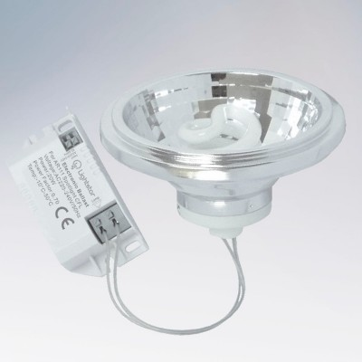 Светильник Lightstar 928472С цоколем g53 - 111мм<br><br><br>Тип лампы: галогенная<br>Тип цоколя: DR111 + G5.3<br>MAX мощность ламп, Вт: 20<br>Диаметр, мм мм: 110<br>Высота, мм: 73