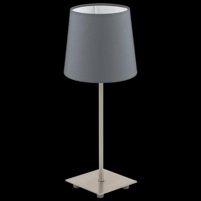 Eglo LAURITZ 92881 Настольная лампаС абажуром<br>Настольная лампа – это не просто источник дополнительного освещения, но и оригинальный элемент декора. Его можно установить в спальне, гостиной, кабинете и других комнатах. Интернет-магазин «Светодом» предлагает настольные лампы разных стилей по доступным ценам. Благодаря большому ассортименту Вы обязательно найдете в нашем каталоге именно ту модель, которую искали.   Настольная лампа Eglo 92881 – прекрасный вариант для завершения интерьера. Ее можно включить одновременно с люстрой для более яркого освещения или без нее для создания уютной атмосферы, настраивающей на отдых.   Купить настольную лампу Eglo 92881 Вы можете с помощью виртуальной «Корзины» или по контактным номерам, указанным на сайте.<br><br>Тип лампы: накал-я - энергосбер-я<br>Тип цоколя: E14<br>MAX мощность ламп, Вт: 40<br>Диаметр, мм мм: 155<br>Размеры основания, мм: 110 / 110<br>Высота, мм: 395<br>Оттенок (цвет): антрацит<br>Цвет арматуры: серый<br>Общая мощность, Вт: 1X40W