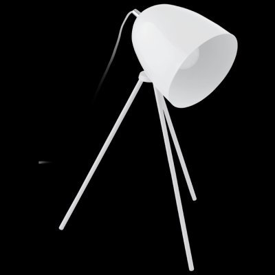 Eglo DON DIEGO 92889 Настольная лампаХай тек<br>Настольная лампа – это не просто источник дополнительного освещения, но и оригинальный элемент декора. Его можно установить в спальне, гостиной, кабинете и других комнатах. Интернет-магазин «Светодом» предлагает настольные лампы разных стилей по доступным ценам. Благодаря большому ассортименту Вы обязательно найдете в нашем каталоге именно ту модель, которую искали.   Настольная лампа Eglo 92889 – прекрасный вариант для завершения интерьера. Ее можно включить одновременно с люстрой для более яркого освещения или без нее для создания уютной атмосферы, настраивающей на отдых.   Купить настольную лампу Eglo 92889 Вы можете с помощью виртуальной «Корзины» или по контактным номерам, указанным на сайте.<br><br>Тип лампы: накаливания / энергосбережения / LED-светодиодная<br>Тип цоколя: E27<br>Ширина, мм: 290<br>MAX мощность ламп, Вт: 40<br>Размеры основания, мм: 0<br>Высота, мм: 440<br>Цвет арматуры: белый<br>Общая мощность, Вт: 1X40W