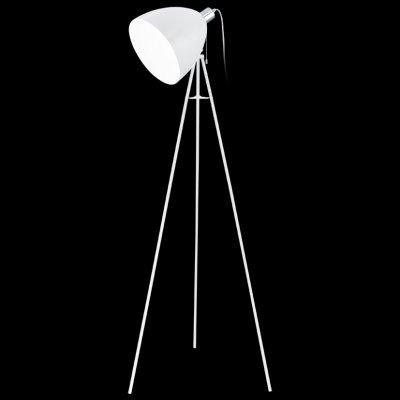 Eglo DON DIEGO 92891 Торшер напольныйНа треноге<br>Торшер – это не просто функциональный предмет интерьера, позволяющий обеспечить дополнительное освещение, но и оригинальный декоративный элемент. Интернет-магазин «Светодом» предлагает стильные модели от известных производителей по доступным ценам. У нас Вы найдете и классические напольные светильники, и современные варианты.   Торшер 92891 Eglo сразу же привлекает внимание благодаря своему необычному дизайну. Модель выполнена из качественных материалов, что обеспечит ее надежную и долговечную работу. Такой напольный светильник можно использовать для интерьера не только гостиной, но и спальни или кабинета.   Купить торшер 92891 Eglo по выгодной стоимости Вы можете с помощью нашего сайта. У нас склады в Москве, Екатеринбурге, Санкт-Петербурге, Новосибирске и другим городам России.<br><br>S освещ. до, м2: 4<br>Тип лампы: накаливания / энергосбережения / LED-светодиодная<br>Тип цоколя: E27<br>Количество ламп: 1<br>MAX мощность ламп, Вт: 60<br>Диаметр, мм мм: 600<br>Размеры основания, мм: 0<br>Высота, мм: 1355<br>Цвет арматуры: белый<br>Общая мощность, Вт: 1X60W