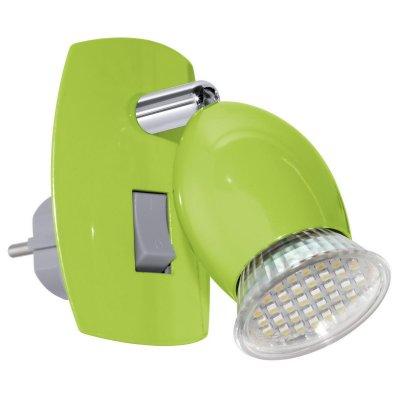 Eglo BRIVI 1 92923 Светильник поворотный спотОдиночные<br>Светильники-споты – это оригинальные изделия с современным дизайном. Они позволяют не ограничивать свою фантазию при выборе освещения для интерьера. Такие модели обеспечивают достаточно качественный свет. Благодаря компактным размерам Вы можете использовать несколько спотов для одного помещения.  Интернет-магазин «Светодом» предлагает необычный светильник-спот Eglo 92923 по привлекательной цене. Эта модель станет отличным дополнением к люстре, выполненной в том же стиле. Перед оформлением заказа изучите характеристики изделия.  Купить светильник-спот Eglo 92923 в нашем онлайн-магазине Вы можете либо с помощью формы на сайте, либо по указанным выше телефонам. Обратите внимание, что у нас склады не только в Москве и Екатеринбурге, но и других городах России.<br><br>S освещ. до, м2: 2<br>Цветовая t, К: 3000 (теплый белый)<br>Тип лампы: LED - светодиодная<br>Тип цоколя: GU10<br>Цвет арматуры: зеленый<br>Размеры основания, мм: 0<br>Длина, мм: 70<br>Высота, мм: 100<br>MAX мощность ламп, Вт: 2.5<br>Общая мощность, Вт: 1X3W
