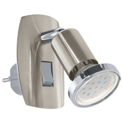Eglo MINI 4 92924 Светильник поворотный спотС выключателем<br><br><br>Цветовая t, К: 3000 (теплый белый)<br>Тип лампы: LED - светодиодная<br>Тип цоколя: GU10<br>Количество ламп: 1<br>MAX мощность ламп, Вт: 3<br>Размеры основания, мм: 0<br>Длина, мм: 70<br>Высота, мм: 100<br>Цвет арматуры: серый<br>Общая мощность, Вт: 1X3W