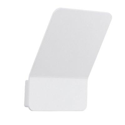 Eglo HARO 93009 Настенно-потолочный светильникХай-тек<br><br><br>Цветовая t, К: 3000 (теплый белый)<br>Тип цоколя: LED<br>Размеры основания, мм: 0<br>Длина, мм: 140<br>Расстояние от стены, мм: 105<br>Высота, мм: 185<br>Оттенок (цвет): прозрачный<br>Цвет арматуры: белый<br>Общая мощность, Вт: 1X3,15W