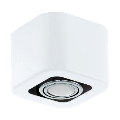 Eglo TORENO 93011 Настенно-потолочные светильникиСветильники даунлайты<br><br><br>Цветовая t, К: 3000 (теплый белый)<br>Тип лампы: галогенная/LED<br>Тип цоколя: GU10<br>Цвет арматуры: белый, хром<br>Ширина, мм: 130<br>Размеры основания, мм: 0<br>Длина, мм: 130<br>Высота, мм: 95<br>MAX мощность ламп, Вт: 5<br>Общая мощность, Вт: 1X5W