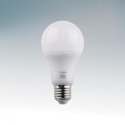 Лампа светодиодная Lightstar 930122Стандартный вид<br><br><br>Тип товара: Лампа светодиодная<br>Цветовая t, К: 3000<br>Тип лампы: LED - светодиодная<br>Тип цоколя: E27<br>Количество ламп: 1<br>MAX мощность ламп, Вт: 12<br>Диаметр, мм мм: 56<br>Высота, мм: 125