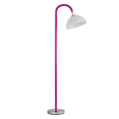 Торшер фиолетовый Brilliant 93020/17 LucieДекоративные<br>Зачастую мы ищем идеальное освещение для своего дома и уделяем этому достаточно много времени. Так, например, если нам нужен светильник с количеством ламп - 1 и цвет плафонов должен быть - розовый, а материал плафонов только пластик! То нам, как вариант, подойдет модель - Торшер Brilliant 93020/17.<br><br>S освещ. до, м2: 1<br>Тип товара: Светильник напольный торшер<br>Тип лампы: накаливания / энергосбережения / LED-светодиодная<br>Тип цоколя: E27<br>Количество ламп: 1<br>MAX мощность ламп, Вт: 20<br>Диаметр, мм мм: 280<br>Высота, мм: 1800<br>Цвет арматуры: серебристый