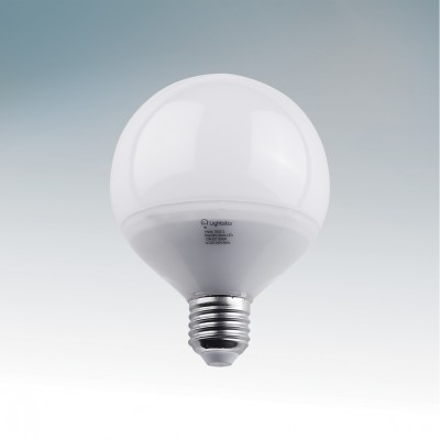 Лампа шар Lightstar 930314 13W G95 4200KСветодиодная лампа шар<br>В интернет-магазине «Светодом» можно купить не только люстры и светильники, но и лампочки. В нашем каталоге представлены светодиодные, галогенные, энергосберегающие модели и лампы накаливания. В ассортименте имеются изделия разной мощности, поэтому у нас Вы сможете приобрести все необходимое для освещения. <br> Лампа Lightstar 930314 обеспечит отличное качество освещения. При покупке ознакомьтесь с параметрами в разделе «Характеристики», чтобы не ошибиться в выборе. Там же указано, для каких осветительных приборов Вы можете использовать лампу Lightstar 930314Lightstar 930314. <br> Для оформления покупки воспользуйтесь «Корзиной». При наличии вопросов Вы можете позвонить нашим менеджерам по одному из контактных номеров. Мы доставляем заказы в Москву, Екатеринбург и другие города России.<br><br>Цветовая t, К: CW - холодный белый 4000 К (4200)<br>Тип лампы: LED - светодиодная<br>Тип цоколя: E27<br>Диаметр, мм мм: 95<br>Высота, мм: 127<br>MAX мощность ламп, Вт: 13