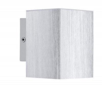 Eglo MADRAS 2 93126 Настенно-потолочный светильникХай-тек<br><br><br>Цветовая t, К: 3000 (теплый белый)<br>Тип лампы: галогенная / LED-светодиодная<br>Тип цоколя: GU10<br>MAX мощность ламп, Вт: 3<br>Размеры основания, мм: 0<br>Длина, мм: 75<br>Расстояние от стены, мм: 100<br>Высота, мм: 106<br>Цвет арматуры: серый<br>Общая мощность, Вт: 1X3W