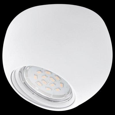 Eglo POLI1 93152 Встраиваемые светильникиДаунлайты<br><br><br>Тип лампы: галогенная<br>Тип цоколя: GU10<br>MAX мощность ламп, Вт: 5<br>Диаметр, мм мм: 100<br>Высота, мм: 80<br>Цвет арматуры: белый