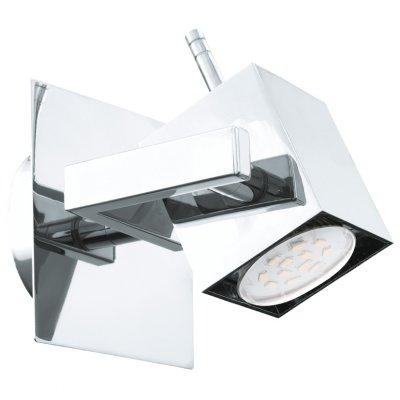 Eglo MANAO 1 93154 Светильник поворотный спотОдиночные<br>Светильники-споты – это оригинальные изделия с современным дизайном. Они позволяют не ограничивать свою фантазию при выборе освещения для интерьера. Такие модели обеспечивают достаточно качественный свет. Благодаря компактным размерам Вы можете использовать несколько спотов для одного помещения.  Интернет-магазин «Светодом» предлагает необычный светильник-спот Eglo 93154 по привлекательной цене. Эта модель станет отличным дополнением к люстре, выполненной в том же стиле. Перед оформлением заказа изучите характеристики изделия.  Купить светильник-спот Eglo 93154 в нашем онлайн-магазине Вы можете либо с помощью формы на сайте, либо по указанным выше телефонам. Обратите внимание, что у нас склады не только в Москве и Екатеринбурге, но и других городах России.<br><br>S освещ. до, м2: 2<br>Тип лампы: LED - светодиодная<br>Тип цоколя: GU10<br>Цвет арматуры: серебристый<br>Ширина, мм: 110<br>Размеры основания, мм: 0<br>Длина, мм: 110<br>MAX мощность ламп, Вт: 5<br>Общая мощность, Вт: 1X5W