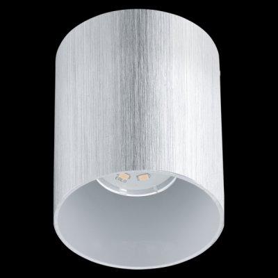 Eglo BANTRY 2 93159 Настенно-потолочные светильникиДаунлайты<br><br><br>Цветовая t, К: 3000 (теплый белый)<br>Тип лампы: LED<br>Тип цоколя: GU10<br>MAX мощность ламп, Вт: 5<br>Диаметр, мм мм: 100<br>Размеры основания, мм: 0<br>Высота, мм: 120<br>Цвет арматуры: алюминий чесаный, глянцевый белый<br>Общая мощность, Вт: 1X5W