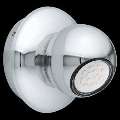 Eglo NORBELLO 2 93164 Светильник поворотный спотОдиночные<br><br><br>Тип товара: Светильник поворотный спот<br>Цветовая t, К: 3000 (теплый белый)<br>Тип лампы: LED - светодиодная<br>Тип цоколя: GU10<br>Диаметр, мм мм: 120<br>Размеры основания, мм: 0<br>Высота, мм: 100<br>Цвет арматуры: серебристый<br>Общая мощность, Вт: 1X5W