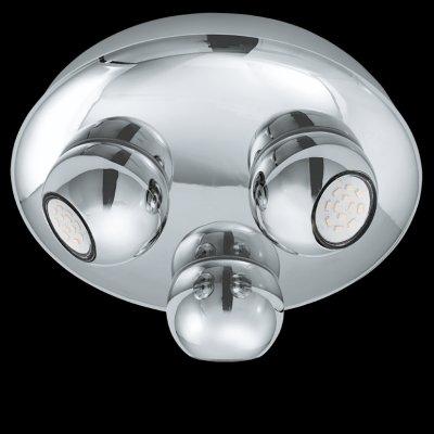 Eglo NORBELLO 2 93166 Светильник поворотный спотТройные<br>Светильники-споты – это оригинальные изделия с современным дизайном. Они позволяют не ограничивать свою фантазию при выборе освещения для интерьера. Такие модели обеспечивают достаточно качественный свет. Благодаря компактным размерам Вы можете использовать несколько спотов для одного помещения. <br>Интернет-магазин «Светодом» предлагает необычный светильник-спот Eglo 93166 по привлекательной цене. Эта модель станет отличным дополнением к люстре, выполненной в том же стиле. Перед оформлением заказа изучите характеристики изделия. <br>Купить светильник-спот Eglo 93166 в нашем онлайн-магазине Вы можете либо с помощью формы на сайте, либо по указанным выше телефонам. Обратите внимание, что у нас склады не только в Москве и Екатеринбурге, но и других городах России.<br><br>Цветовая t, К: 3000 (теплый белый)<br>Тип лампы: LED - светодиодная<br>Тип цоколя: GU10<br>Диаметр, мм мм: 270<br>Размеры основания, мм: 0<br>Высота, мм: 100<br>Цвет арматуры: серебристый<br>Общая мощность, Вт: 3X5W