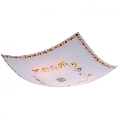 Citilux Смайлики CL932016 Светильник настенно-потолочныйдетские настенно-потолочные светильники<br>Настенно потолочный светильник Citilux (Ситилюкс) CL932016 подходит как для установки в вертикальном положении - на стены, так и для установки в горизонтальном - на потолок. Для установки настенно потолочных светильников на натяжной потолок необходимо использовать светодиодные лампы LED, которые экономнее ламп Ильича (накаливания) в 10 раз, выделяют мало тепла и не дадут расплавиться Вашему потолку.<br><br>S освещ. до, м2: 26<br>Тип лампы: накаливания / энергосбережения / LED-светодиодная<br>Тип цоколя: E27<br>Количество ламп: 4<br>Ширина, мм: 500<br>Размеры: Габариты<br>Высота, мм: 130<br>MAX мощность ламп, Вт: 100