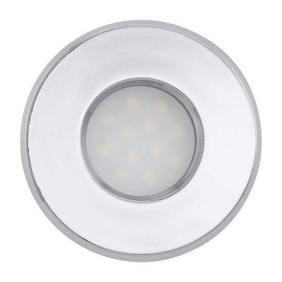 Eglo IGOA 93215 Встраиваемые и накладные светильникиКруглые LED<br>Встраиваемые светильники – популярное осветительное оборудование, которое можно использовать в качестве основного источника или в дополнение к люстре. Они позволяют создать нужную атмосферу атмосферу и привнести в интерьер уют и комфорт.   Интернет-магазин «Светодом» предлагает стильный встраиваемый светильник Eglo 93215. Данная модель достаточно универсальна, поэтому подойдет практически под любой интерьер. Перед покупкой не забудьте ознакомиться с техническими параметрами, чтобы узнать тип цоколя, площадь освещения и другие важные характеристики.   Приобрести встраиваемый светильник Eglo 93215 в нашем онлайн-магазине Вы можете либо с помощью «Корзины», либо по контактным номерам. Мы развозим заказы по Москве, Екатеринбургу и остальным российским городам.<br><br>Цветовая t, К: 3000 (теплый белый)<br>Тип лампы: LED<br>Тип цоколя: GU10<br>MAX мощность ламп, Вт: 5<br>Диаметр, мм мм: 85<br>Размеры основания, мм: 0<br>Диаметр врезного отверстия, мм: 130<br>Цвет арматуры: серебристый<br>Общая мощность, Вт: 1X5W