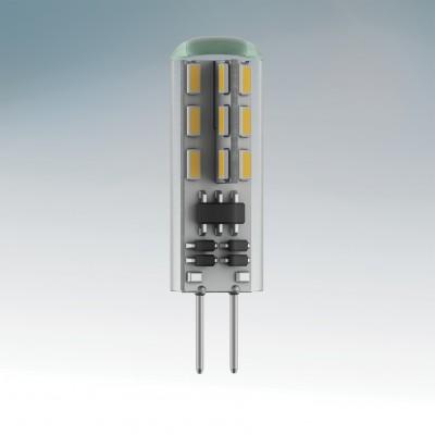 Lightstar 932504 Лампа LED 12V JC G4 1.5W=15W 110LM 360G RA85 4200K 20000HСнято с производства<br>В интернет-магазине «Светодом» можно купить не только люстры и светильники, но и лампочки. В нашем каталоге представлены светодиодные, галогенные, энергосберегающие модели и лампы накаливания. В ассортименте имеются изделия разной мощности, поэтому у нас Вы сможете приобрести все необходимое для освещения.   Лампа Lightstar 932504 LED 12V JC G4 1.5W=15W 110LM 360G RA85 4200K 20000H обеспечит отличное качество освещения. При покупке ознакомьтесь с параметрами в разделе «Характеристики», чтобы не ошибиться в выборе. Там же указано, для каких осветительных приборов Вы можете использовать лампу Lightstar 932504 LED 12V JC G4 1.5W=15W 110LM 360G RA85 4200K 20000HLightstar 932504 LED 12V JC G4 1.5W=15W 110LM 360G RA85 4200K 20000H.   Для оформления покупки воспользуйтесь «Корзиной». При наличии вопросов Вы можете позвонить нашим менеджерам по одному из контактных номеров. Мы доставляем заказы в Москву, Екатеринбург и другие города России.<br><br>Цветовая t, К: 4200<br>Тип лампы: LED<br>Тип цоколя: G4<br>MAX мощность ламп, Вт: 1.5<br>Диаметр, мм мм: 10<br>Высота, мм: 35