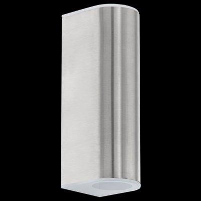 Eglo CABOS 93271 светильник уличныйНастенные<br>Обеспечение качественного уличного освещения – важная задача для владельцев коттеджей. Компания «Светодом» предлагает современные светильники, которые порадуют Вас отличным исполнением. В нашем каталоге представлена продукция известных производителей, пользующихся популярностью благодаря высокому качеству выпускаемых товаров.   Уличный светильник Eglo 93271 не просто обеспечит качественное освещение, но и станет украшением Вашего участка. Модель выполнена из современных материалов и имеет влагозащитный корпус, благодаря которому ей не страшны осадки.   Купить уличный светильник Eglo 93271, представленный в нашем каталоге, можно с помощью онлайн-формы для заказа. Чтобы задать имеющиеся вопросы, звоните нам по указанным телефонам.<br><br>Цветовая t, К: 3000 (теплый белый)<br>Тип лампы: LED - светодиодная<br>Тип цоколя: LED-MODUL<br>MAX мощность ламп, Вт: 2X2,5<br>Длина, мм: 75<br>Расстояние от стены, мм: 90<br>Высота, мм: 210<br>Оттенок (цвет): сатинированный<br>Цвет арматуры: серебристый<br>Общая мощность, Вт: 1