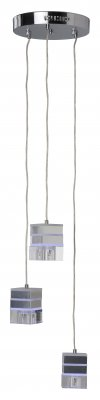 Подвес Brilliant G93279/15 TanilaТройные<br>Зачастую мы ищем идеальное освещение для своего дома и уделяем этому достаточно много времени. Так, например, если нам нужен светильник с количеством ламп - 3 и цвет плафонов должен быть - неокрашенный, а материал плафонов только стекло! То нам, как вариант, подойдет модель подвесного светильника Brilliant G93279/15.<br><br>S освещ. до, м2: 8<br>Тип товара: Люстра<br>Тип лампы: галогенная / LED-светодиодная<br>Тип цоколя: G9<br>Количество ламп: 3<br>MAX мощность ламп, Вт: 40<br>Диаметр, мм мм: 250<br>Высота, мм: 1200<br>Цвет арматуры: серебристый