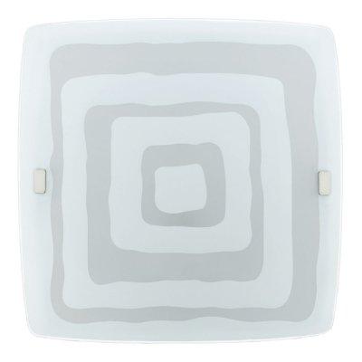 Eglo LED BORGO 93284 Настенно-потолочные светильникиКвадратные<br>Настенно-потолочные светильники – это универсальные осветительные варианты, которые подходят для вертикального и горизонтального монтажа. В интернет-магазине «Светодом» Вы можете приобрести подобные модели по выгодной стоимости. В нашем каталоге представлены как бюджетные варианты, так и эксклюзивные изделия от производителей, которые уже давно заслужили доверие дизайнеров и простых покупателей.  Настенно-потолочный светильник Eglo 93284 станет прекрасным дополнением к основному освещению. Благодаря качественному исполнению и применению современных технологий при производстве эта модель будет радовать Вас своим привлекательным внешним видом долгое время. Приобрести настенно-потолочный светильник Eglo 93284 можно, находясь в любой точке России.<br><br>S освещ. до, м2: 10<br>Цветовая t, К: 3000 (теплый белый)<br>Тип лампы: LED<br>Тип цоколя: LED<br>MAX мощность ламп, Вт: 24<br>Размеры основания, мм: 0<br>Длина, мм: 410<br>Высота, мм: 410<br>Оттенок (цвет): белый с декором<br>Цвет арматуры: белый<br>Общая мощность, Вт: 24W