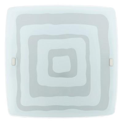 Eglo LED BORGO 93285 Настенно-потолочные светильникиКвадратные<br><br><br>Тип товара: Настенно-потолочные светильники<br>Скидка, %: 54<br>Цветовая t, К: 3000 (теплый белый)<br>Тип лампы: LED - светодиодная<br>Тип цоколя: LED<br>MAX мощность ламп, Вт: 36<br>Размеры основания, мм: 0<br>Длина, мм: 510<br>Расстояние от стены, мм: 120<br>Высота, мм: 510<br>Оттенок (цвет): белый с декором<br>Цвет арматуры: белый<br>Общая мощность, Вт: 36W