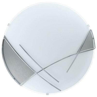 Eglo LED RAYA 93289 Настенно-потолочный светильникКруглые<br>Настенно-потолочные светильники – это универсальные осветительные варианты, которые подходят для вертикального и горизонтального монтажа. В интернет-магазине «Светодом» Вы можете приобрести подобные модели по выгодной стоимости. В нашем каталоге представлены как бюджетные варианты, так и эксклюзивные изделия от производителей, которые уже давно заслужили доверие дизайнеров и простых покупателей.  Настенно-потолочный светильник Eglo 93289 станет прекрасным дополнением к основному освещению. Благодаря качественному исполнению и применению современных технологий при производстве эта модель будет радовать Вас своим привлекательным внешним видом долгое время. Приобрести настенно-потолочный светильник Eglo 93289 можно, находясь в любой точке России.<br><br>S освещ. до, м2: 5<br>Цветовая t, К: 3000 (теплый белый)<br>Тип лампы: LED<br>Тип цоколя: LED<br>MAX мощность ламп, Вт: 12<br>Диаметр, мм мм: 315<br>Размеры основания, мм: 0<br>Расстояние от стены, мм: 100<br>Оттенок (цвет): белый, серебряный<br>Цвет арматуры: белый<br>Общая мощность, Вт: 12W