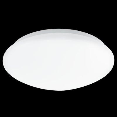 Eglo LED GIRON 93304 Настенно-потолочный светильникКруглые<br><br><br>S освещ. до, м2: 5<br>Цветовая t, К: 3000 (теплый белый)<br>Тип лампы: LED - светодиодная<br>Тип цоколя: LED<br>Цвет арматуры: белый<br>Диаметр, мм мм: 300<br>Размеры основания, мм: 0<br>Расстояние от стены, мм: 75<br>Оттенок (цвет): белый<br>MAX мощность ламп, Вт: 12<br>Общая мощность, Вт: 12W