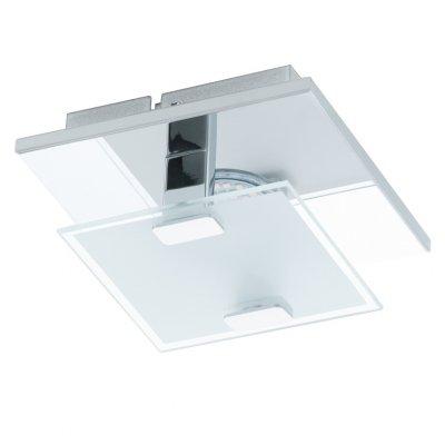 Eglo VICARO 93311 Настенно-потолочные светильникиКвадратные<br>Настенно-потолочные светильники – это универсальные осветительные варианты, которые подходят для вертикального и горизонтального монтажа. В интернет-магазине «Светодом» Вы можете приобрести подобные модели по выгодной стоимости. В нашем каталоге представлены как бюджетные варианты, так и эксклюзивные изделия от производителей, которые уже давно заслужили доверие дизайнеров и простых покупателей.  Настенно-потолочный светильник Eglo 93311 станет прекрасным дополнением к основному освещению. Благодаря качественному исполнению и применению современных технологий при производстве эта модель будет радовать Вас своим привлекательным внешним видом долгое время.  Приобрести настенно-потолочный светильник Eglo 93311 можно, находясь в любой точке России.<br><br>S освещ. до, м2: 1<br>Цветовая t, К: 3000 (теплый белый)<br>Тип лампы: LED - светодиодная<br>Тип цоколя: LED<br>Ширина, мм: 135<br>MAX мощность ламп, Вт: 2.5<br>Размеры основания, мм: 0<br>Длина, мм: 135<br>Расстояние от стены, мм: 65<br>Оттенок (цвет): белый, прозрачный<br>Цвет арматуры: серебристый<br>Общая мощность, Вт: 1X2,5W