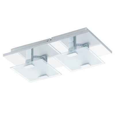 Eglo VICARO 93312 Настенно-потолочные светильникиПрямоугольные<br>Настенно-потолочные светильники – это универсальные осветительные варианты, которые подходят для вертикального и горизонтального монтажа. В интернет-магазине «Светодом» Вы можете приобрести подобные модели по выгодной стоимости. В нашем каталоге представлены как бюджетные варианты, так и эксклюзивные изделия от производителей, которые уже давно заслужили доверие дизайнеров и простых покупателей.  Настенно-потолочный светильник Eglo 93312 станет прекрасным дополнением к основному освещению. Благодаря качественному исполнению и применению современных технологий при производстве эта модель будет радовать Вас своим привлекательным внешним видом долгое время. Приобрести настенно-потолочный светильник Eglo 93312 можно, находясь в любой точке России. Компания «Светодом» осуществляет доставку заказов не только по Москве и Екатеринбургу, но и в остальные города.<br><br>S освещ. до, м2: 2<br>Цветовая t, К: 3000 (теплый белый)<br>Тип лампы: LED - светодиодная<br>Тип цоколя: LED<br>Количество ламп: 2<br>Ширина, мм: 135<br>MAX мощность ламп, Вт: 2,5<br>Размеры основания, мм: 0<br>Длина, мм: 270<br>Расстояние от стены, мм: 65<br>Оттенок (цвет): белый, прозрачный<br>Цвет арматуры: серебристый<br>Общая мощность, Вт: 2X2,5W