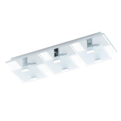 Eglo VICARO 93313 Настенно-потолочные светильникиПрямоугольные<br>Настенно-потолочные светильники – это универсальные осветительные варианты, которые подходят для вертикального и горизонтального монтажа. В интернет-магазине «Светодом» Вы можете приобрести подобные модели по выгодной стоимости. В нашем каталоге представлены как бюджетные варианты, так и эксклюзивные изделия от производителей, которые уже давно заслужили доверие дизайнеров и простых покупателей.  Настенно-потолочный светильник Eglo 93313 станет прекрасным дополнением к основному освещению. Благодаря качественному исполнению и применению современных технологий при производстве эта модель будет радовать Вас своим привлекательным внешним видом долгое время. Приобрести настенно-потолочный светильник Eglo 93313 можно, находясь в любой точке России.<br><br>S освещ. до, м2: 3<br>Цветовая t, К: 3000 (теплый белый)<br>Тип лампы: LED - светодиодная<br>Тип цоколя: LED<br>Количество ламп: 3<br>Ширина, мм: 135<br>MAX мощность ламп, Вт: 2,5<br>Размеры основания, мм: 0<br>Длина, мм: 405<br>Расстояние от стены, мм: 65<br>Оттенок (цвет): белый, прозрачный<br>Цвет арматуры: серебристый<br>Общая мощность, Вт: 3X2,5W