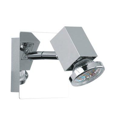 Eglo ZABELLA 93321 Светильник поворотный спотОдиночные<br>Светильники-споты – это оригинальные изделия с современным дизайном. Они позволяют не ограничивать свою фантазию при выборе освещения для интерьера. Такие модели обеспечивают достаточно качественный свет. Благодаря компактным размерам Вы можете использовать несколько спотов для одного помещения.  Интернет-магазин «Светодом» предлагает необычный светильник-спот Eglo 93321 по привлекательной цене. Эта модель станет отличным дополнением к люстре, выполненной в том же стиле. Перед оформлением заказа изучите характеристики изделия.  Купить светильник-спот Eglo 93321 в нашем онлайн-магазине Вы можете либо с помощью формы на сайте, либо по указанным выше телефонам. Обратите внимание, что у нас склады не только в Москве и Екатеринбурге, но и других городах России.<br><br>S освещ. до, м2: 2<br>Тип лампы: галогенная / LED-светодиодная<br>Тип цоколя: GU10<br>Цвет арматуры: серебристый<br>Количество ламп: 1<br>Ширина, мм: 100<br>Размеры основания, мм: 0<br>Длина, мм: 100<br>Общая мощность, Вт: 1X5W