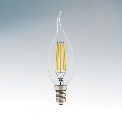 Lightstar 933602 Лампа LED FILAMENT 220V CA35 E14 6W=65W 400-430LM 360G CL 2800K 30000HВ виде свечи<br>В интернет-магазине «Светодом» можно купить не только люстры и светильники, но и лампочки. В нашем каталоге представлены светодиодные, галогенные, энергосберегающие модели и лампы накаливания. В ассортименте имеются изделия разной мощности, поэтому у нас Вы сможете приобрести все необходимое для освещения. <br> Лампа Lightstar 933602 LED FILAMENT 220V CA35 E14 6W=65W 400-430LM 360G CL 2800K 30000H обеспечит отличное качество освещения. При покупке ознакомьтесь с параметрами в разделе «Характеристики», чтобы не ошибиться в выборе. Там же указано, для каких осветительных приборов Вы можете использовать лампу Lightstar 933602 LED FILAMENT 220V CA35 E14 6W=65W 400-430LM 360G CL 2800K 30000HLightstar 933602 LED FILAMENT 220V CA35 E14 6W=65W 400-430LM 360G CL 2800K 30000H. <br> Для оформления покупки воспользуйтесь «Корзиной». При наличии вопросов Вы можете позвонить нашим менеджерам по одному из контактных номеров. Мы доставляем заказы в Москву, Екатеринбург и другие города России.<br><br>Цветовая t, К: 2800<br>Тип лампы: LED<br>Тип цоколя: E14<br>MAX мощность ламп, Вт: 6