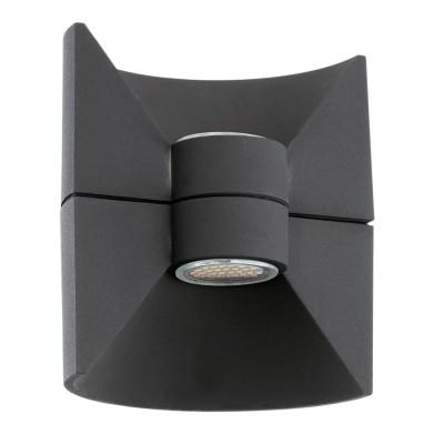 Eglo REDONDO 93368 светильник уличныйНастенные<br>Обеспечение качественного уличного освещения – важная задача для владельцев коттеджей. Компания «Светодом» предлагает современные светильники, которые порадуют Вас отличным исполнением. В нашем каталоге представлена продукция известных производителей, пользующихся популярностью благодаря высокому качеству выпускаемых товаров.   Уличный светильник Eglo 93368 не просто обеспечит качественное освещение, но и станет украшением Вашего участка. Модель выполнена из современных материалов и имеет влагозащитный корпус, благодаря которому ей не страшны осадки.   Купить уличный светильник Eglo 93368, представленный в нашем каталоге, можно с помощью онлайн-формы для заказа. Чтобы задать имеющиеся вопросы, звоните нам по указанным телефонам. Мы доставим Ваш заказ не только в Москву и Екатеринбург, но и другие города.<br><br>Цветовая t, К: 3000 (теплый белый)<br>Тип лампы: LED<br>Тип цоколя: LED-MODUL<br>MAX мощность ламп, Вт: 2X2,5<br>Длина, мм: 160<br>Расстояние от стены, мм: 125<br>Высота, мм: 175<br>Цвет арматуры: черный<br>Общая мощность, Вт: 1