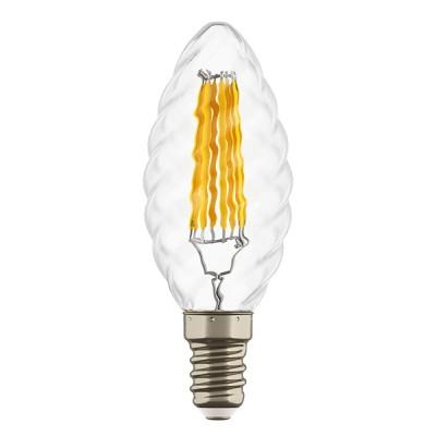 Лампа светодиодная Lightstar 933704 FILAMENTЛампы с цоколем e14<br>В интернет-магазине «Светодом» можно купить не только люстры и светильники, но и лампочки. В нашем каталоге представлены светодиодные, галогенные, энергосберегающие модели и лампы накаливания. В ассортименте имеются изделия разной мощности, поэтому у нас Вы сможете приобрести все необходимое для освещения.<br> Для оформления покупки воспользуйтесь «Корзиной». При наличии вопросов Вы можете позвонить нашим менеджерам по одному из контактных номеров. Мы доставляем заказы в Москву, Екатеринбург и другие города России.<br><br>Цветовая t, К: 4000<br>Тип лампы: LED - светодиодная<br>Тип цоколя: E14<br>Количество ламп: 1<br>MAX мощность ламп, Вт: 6
