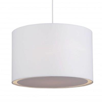 Подвесной светильник Brilliant 93374/05 ClairОдиночные<br>Зачастую мы ищем идеальное освещение для своего дома и уделяем этому достаточно много времени. Так, например, если нам нужен светильник с количеством ламп - 1 и цвет плафонов должен быть - белый, а материал плафонов только текстиль! То нам, как вариант, подойдет модель подвесного светильника Brilliant 93374/05.<br><br>S освещ. до, м2: 4<br>Тип лампы: накаливания / энергосбережения / LED-светодиодная<br>Тип цоколя: E27<br>Цвет арматуры: белый<br>Количество ламп: 1<br>Диаметр, мм мм: 400<br>Высота, мм: 1000<br>MAX мощность ламп, Вт: 60