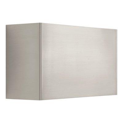 Eglo NIKITA 93379 Настенно-потолочный светильникХай-тек<br><br><br>Цветовая t, К: 3000 (теплый белый)<br>Тип лампы: LED - светодиодная<br>Тип цоколя: LED<br>MAX мощность ламп, Вт: 2.5<br>Размеры основания, мм: 0<br>Длина, мм: 225<br>Расстояние от стены, мм: 80<br>Высота, мм: 125<br>Цвет арматуры: серый<br>Общая мощность, Вт: 2X2,5W