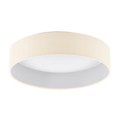 Eglo PALOMARO 93392 Настенно-потолочный светильникКруглые<br>Настенно-потолочные светильники – это универсальные осветительные варианты, которые подходят для вертикального и горизонтального монтажа. В интернет-магазине «Светодом» Вы можете приобрести подобные модели по выгодной стоимости. В нашем каталоге представлены как бюджетные варианты, так и эксклюзивные изделия от производителей, которые уже давно заслужили доверие дизайнеров и простых покупателей.  Настенно-потолочный светильник Eglo 93392 станет прекрасным дополнением к основному освещению. Благодаря качественному исполнению и применению современных технологий при производстве эта модель будет радовать Вас своим привлекательным внешним видом долгое время. Приобрести настенно-потолочный светильник Eglo 93392 можно, находясь в любой точке России. Компания «Светодом» осуществляет доставку заказов не только по Москве и Екатеринбургу, но и в остальные города.<br><br>S освещ. до, м2: 5<br>Цветовая t, К: 3000 (теплый белый)<br>Тип лампы: LED - светодиодная<br>Тип цоколя: LED<br>MAX мощность ламп, Вт: 12<br>Диаметр, мм мм: 320<br>Размеры основания, мм: 0<br>Высота, мм: 90<br>Оттенок (цвет): кремовый<br>Цвет арматуры: белый<br>Общая мощность, Вт: 12W