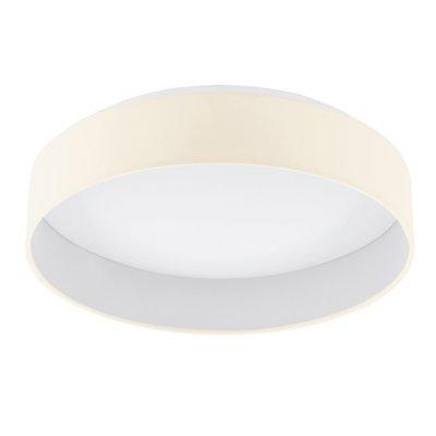 Eglo PALOMARO 93393 Настенно-потолочный светильникКруглые<br>Настенно-потолочные светильники – это универсальные осветительные варианты, которые подходят для вертикального и горизонтального монтажа. В интернет-магазине «Светодом» Вы можете приобрести подобные модели по выгодной стоимости. В нашем каталоге представлены как бюджетные варианты, так и эксклюзивные изделия от производителей, которые уже давно заслужили доверие дизайнеров и простых покупателей.  Настенно-потолочный светильник Eglo 93393 станет прекрасным дополнением к основному освещению. Благодаря качественному исполнению и применению современных технологий при производстве эта модель будет радовать Вас своим привлекательным внешним видом долгое время. Приобрести настенно-потолочный светильник Eglo 93393 можно, находясь в любой точке России.<br><br>S освещ. до, м2: 7<br>Цветовая t, К: 3000 (теплый белый)<br>Тип лампы: LED - светодиодная<br>Тип цоколя: LED<br>MAX мощность ламп, Вт: 18<br>Диаметр, мм мм: 405<br>Размеры основания, мм: 0<br>Высота, мм: 100<br>Оттенок (цвет): кремовый<br>Цвет арматуры: белый<br>Общая мощность, Вт: 18W