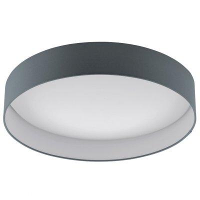 Eglo PALOMARO 93397 Настенно-потолочный светильникКруглые<br>Настенно-потолочные светильники – это универсальные осветительные варианты, которые подходят для вертикального и горизонтального монтажа. В интернет-магазине «Светодом» Вы можете приобрести подобные модели по выгодной стоимости. В нашем каталоге представлены как бюджетные варианты, так и эксклюзивные изделия от производителей, которые уже давно заслужили доверие дизайнеров и простых покупателей.  Настенно-потолочный светильник Eglo 93397 станет прекрасным дополнением к основному освещению. Благодаря качественному исполнению и применению современных технологий при производстве эта модель будет радовать Вас своим привлекательным внешним видом долгое время. Приобрести настенно-потолочный светильник Eglo 93397 можно, находясь в любой точке России.<br><br>S освещ. до, м2: 10<br>Цветовая t, К: 3000 (теплый белый)<br>Тип лампы: LED - светодиодная<br>Тип цоколя: LED<br>MAX мощность ламп, Вт: 24<br>Диаметр, мм мм: 500<br>Размеры основания, мм: 0<br>Высота, мм: 110<br>Оттенок (цвет): антрацит<br>Цвет арматуры: белый<br>Общая мощность, Вт: 24W