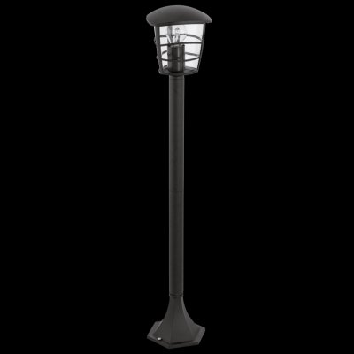 Eglo ALORIA 93408 светильник уличныйОдиночные столбы<br>Обеспечение качественного уличного освещения – важная задача для владельцев коттеджей. Компания «Светодом» предлагает современные светильники, которые порадуют Вас отличным исполнением. В нашем каталоге представлена продукция известных производителей, пользующихся популярностью благодаря высокому качеству выпускаемых товаров.   Уличный светильник Eglo 93408 не просто обеспечит качественное освещение, но и станет украшением Вашего участка. Модель выполнена из современных материалов и имеет влагозащитный корпус, благодаря которому ей не страшны осадки.   Купить уличный светильник Eglo 93408, представленный в нашем каталоге, можно с помощью онлайн-формы для заказа. Чтобы задать имеющиеся вопросы, звоните нам по указанным телефонам.<br><br>Тип лампы: накаливания / энергосбережения / LED-светодиодная<br>Тип цоколя: E27<br>Ширина, мм: 170<br>MAX мощность ламп, Вт: 60<br>Размеры основания, мм: 170<br>Длина, мм: 170<br>Высота, мм: 940<br>Оттенок (цвет): прозрачный<br>Цвет арматуры: черный<br>Общая мощность, Вт: 2
