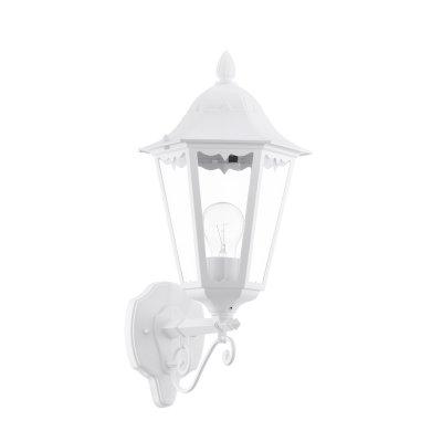 Eglo NAVEDO 93446 светильник уличныйНастенные<br>Обеспечение качественного уличного освещения – важная задача для владельцев коттеджей. Компания «Светодом» предлагает современные светильники, которые порадуют Вас отличным исполнением. В нашем каталоге представлена продукция известных производителей, пользующихся популярностью благодаря высокому качеству выпускаемых товаров.   Уличный светильник Eglo 93446 не просто обеспечит качественное освещение, но и станет украшением Вашего участка. Модель выполнена из современных материалов и имеет влагозащитный корпус, благодаря которому ей не страшны осадки.   Купить уличный светильник Eglo 93446, представленный в нашем каталоге, можно с помощью онлайн-формы для заказа. Чтобы задать имеющиеся вопросы, звоните нам по указанным телефонам. Мы доставим Ваш заказ не только в Москву и Екатеринбург, но и другие города.<br><br>Тип лампы: накаливания / энергосбережения / LED-светодиодная<br>Тип цоколя: E27<br>Количество ламп: 1<br>MAX мощность ламп, Вт: 60<br>Длина, мм: 200<br>Расстояние от стены, мм: 285<br>Высота, мм: 475<br>Оттенок (цвет): прозрачный<br>Цвет арматуры: белый<br>Общая мощность, Вт: 2