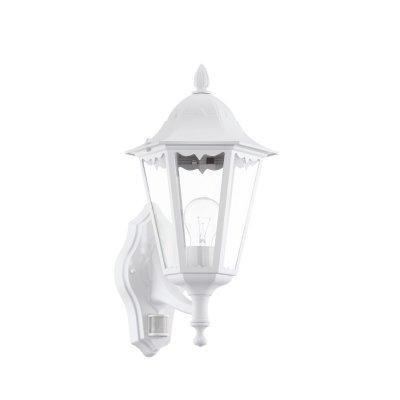 Eglo NAVEDO 93447 светильник уличныйНастенные<br>Обеспечение качественного уличного освещени – важна задача дл владельцев коттеджей. Компани «Светодом» предлагает современные светильники, которые порадут Вас отличным исполнением. В нашем каталоге представлена продукци известных производителей, пользущихс популрность благодар высокому качеству выпускаемых товаров.   Уличный светильник Eglo 93447 не просто обеспечит качественное освещение, но и станет украшением Вашего участка. Модель выполнена из современных материалов и имеет влагозащитный корпус, благодар которому ей не страшны осадки.   Купить уличный светильник Eglo 93447, представленный в нашем каталоге, можно с помощь онлайн-формы дл заказа. Чтобы задать имещиес вопросы, звоните нам по указанным телефонам. Мы доставим Ваш заказ не только в Москву и Екатеринбург, но и другие города.<br><br>Тип лампы: накаливани / нергосбережени / LED-светодиодна<br>Тип цокол: E27<br>Количество ламп: 1<br>MAX мощность ламп, Вт: 60<br>Длина, мм: 200<br>Расстоние от стены, мм: 285<br>Высота, мм: 425<br>Оттенок (цвет): прозрачный<br>Цвет арматуры: белый<br>Обща мощность, Вт: 2