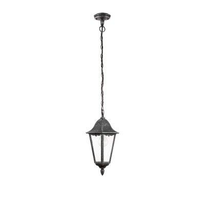 Eglo NAVEDO 93455 светильник уличныйПодвесные<br>Обеспечение качественного уличного освещения – важная задача для владельцев коттеджей. Компания «Светодом» предлагает современные светильники, которые порадуют Вас отличным исполнением. В нашем каталоге представлена продукция известных производителей, пользующихся популярностью благодаря высокому качеству выпускаемых товаров.   Уличный светильник Eglo 93455 не просто обеспечит качественное освещение, но и станет украшением Вашего участка. Модель выполнена из современных материалов и имеет влагозащитный корпус, благодаря которому ей не страшны осадки.   Купить уличный светильник Eglo 93455, представленный в нашем каталоге, можно с помощью онлайн-формы для заказа. Чтобы задать имеющиеся вопросы, звоните нам по указанным телефонам. Мы доставим Ваш заказ не только в Москву и Екатеринбург, но и другие города.<br><br>Тип лампы: накаливания / энергосбережения / LED-светодиодная<br>Тип цоколя: E27<br>Количество ламп: 1<br>MAX мощность ламп, Вт: 60<br>Диаметр, мм мм: 230<br>Высота, мм: 1045<br>Оттенок (цвет): прозрачный<br>Цвет арматуры: черный<br>Общая мощность, Вт: 2