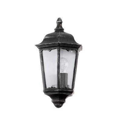 Eglo NAVEDO 93459 светильник уличныйНастенные<br>Обеспечение качественного уличного освещения – важная задача для владельцев коттеджей. Компания «Светодом» предлагает современные светильники, которые порадуют Вас отличным исполнением. В нашем каталоге представлена продукция известных производителей, пользующихся популярностью благодаря высокому качеству выпускаемых товаров.   Уличный светильник Eglo 93459 не просто обеспечит качественное освещение, но и станет украшением Вашего участка. Модель выполнена из современных материалов и имеет влагозащитный корпус, благодаря которому ей не страшны осадки.   Купить уличный светильник Eglo 93459, представленный в нашем каталоге, можно с помощью онлайн-формы для заказа. Чтобы задать имеющиеся вопросы, звоните нам по указанным телефонам.<br><br>Тип лампы: накаливания / энергосбережения / LED-светодиодная<br>Тип цоколя: E27<br>Количество ламп: 1<br>MAX мощность ламп, Вт: 60<br>Длина, мм: 290<br>Расстояние от стены, мм: 130<br>Высота, мм: 430<br>Оттенок (цвет): прозрачный<br>Цвет арматуры: черный<br>Общая мощность, Вт: 2