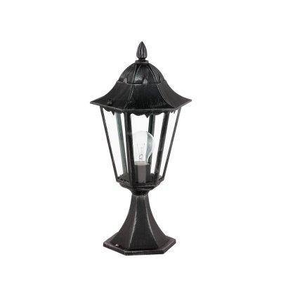 Eglo NAVEDO 93462 светильник уличныйУличные фонари на столб<br>Обеспечение качественного уличного освещения – важная задача для владельцев коттеджей. Компания «Светодом» предлагает современные светильники, которые порадуют Вас отличным исполнением. В нашем каталоге представлена продукция известных производителей, пользующихся популярностью благодаря высокому качеству выпускаемых товаров.   Уличный светильник Eglo 93462 не просто обеспечит качественное освещение, но и станет украшением Вашего участка. Модель выполнена из современных материалов и имеет влагозащитный корпус, благодаря которому ей не страшны осадки.   Купить уличный светильник Eglo 93462, представленный в нашем каталоге, можно с помощью онлайн-формы для заказа. Чтобы задать имеющиеся вопросы, звоните нам по указанным телефонам.<br><br>Тип лампы: накаливания / энергосбережения / LED-светодиодная<br>Тип цоколя: E27<br>Цвет арматуры: черный<br>Количество ламп: 1<br>Диаметр, мм мм: 230<br>Размеры основания, мм: 170<br>Высота, мм: 470<br>Оттенок (цвет): прозрачный<br>MAX мощность ламп, Вт: 60<br>Общая мощность, Вт: 2