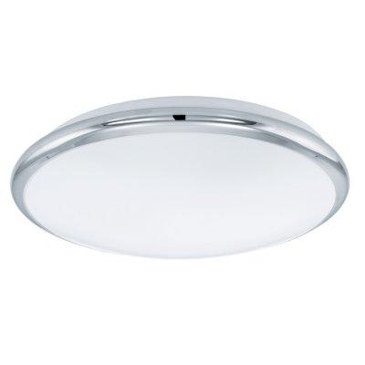Eglo MANILVA 93496 Настенно-потолочный светильникКруглые<br>Настенно-потолочные светильники – это универсальные осветительные варианты, которые подходят для вертикального и горизонтального монтажа. В интернет-магазине «Светодом» Вы можете приобрести подобные модели по выгодной стоимости. В нашем каталоге представлены как бюджетные варианты, так и эксклюзивные изделия от производителей, которые уже давно заслужили доверие дизайнеров и простых покупателей.  Настенно-потолочный светильник Eglo 93496 станет прекрасным дополнением к основному освещению. Благодаря качественному исполнению и применению современных технологий при производстве эта модель будет радовать Вас своим привлекательным внешним видом долгое время. Приобрести настенно-потолочный светильник Eglo 93496 можно, находясь в любой точке России.<br><br>S освещ. до, м2: 5<br>Цветовая t, К: 3000 (теплый белый)<br>Тип лампы: LED - светодиодная<br>Тип цоколя: LED<br>MAX мощность ламп, Вт: 12<br>Диаметр, мм мм: 300<br>Размеры основания, мм: 0<br>Расстояние от стены, мм: 70<br>Оттенок (цвет): белый<br>Цвет арматуры: серебристый<br>Общая мощность, Вт: 12W