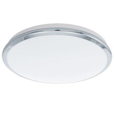 Eglo MANILVA 93497 Настенно-потолочный светильникКруглые<br>Настенно-потолочные светильники – это универсальные осветительные варианты, которые подходят для вертикального и горизонтального монтажа. В интернет-магазине «Светодом» Вы можете приобрести подобные модели по выгодной стоимости. В нашем каталоге представлены как бюджетные варианты, так и эксклюзивные изделия от производителей, которые уже давно заслужили доверие дизайнеров и простых покупателей.  Настенно-потолочный светильник Eglo 93497 станет прекрасным дополнением к основному освещению. Благодаря качественному исполнению и применению современных технологий при производстве эта модель будет радовать Вас своим привлекательным внешним видом долгое время. Приобрести настенно-потолочный светильник Eglo 93497 можно, находясь в любой точке России.<br><br>S освещ. до, м2: 7<br>Цветовая t, К: 3000 (теплый белый)<br>Тип лампы: LED - светодиодная<br>Тип цоколя: LED<br>Цвет арматуры: серебристый<br>Диаметр, мм мм: 385<br>Размеры основания, мм: 0<br>Расстояние от стены, мм: 80<br>Оттенок (цвет): белый<br>MAX мощность ламп, Вт: 18<br>Общая мощность, Вт: 18W
