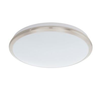 Настенно-потолочный светильник Eglo 93499 MANILVAкруглые светильники<br>Настенно-потолочные светильники – это универсальные осветительные варианты, которые подходят для вертикального и горизонтального монтажа. В интернет-магазине «Светодом» Вы можете приобрести подобные модели по выгодной стоимости. В нашем каталоге представлены как бюджетные варианты, так и эксклюзивные изделия от производителей, которые уже давно заслужили доверие дизайнеров и простых покупателей.  Настенно-потолочный светильник Eglo 93499 станет прекрасным дополнением к основному освещению. Благодаря качественному исполнению и применению современных технологий при производстве эта модель будет радовать Вас своим привлекательным внешним видом долгое время. Приобрести настенно-потолочный светильник Eglo 93499 можно, находясь в любой точке России.